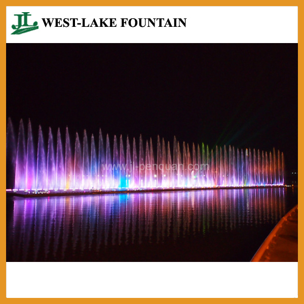 Large Music Controlled Colorful Laser Water Fountain