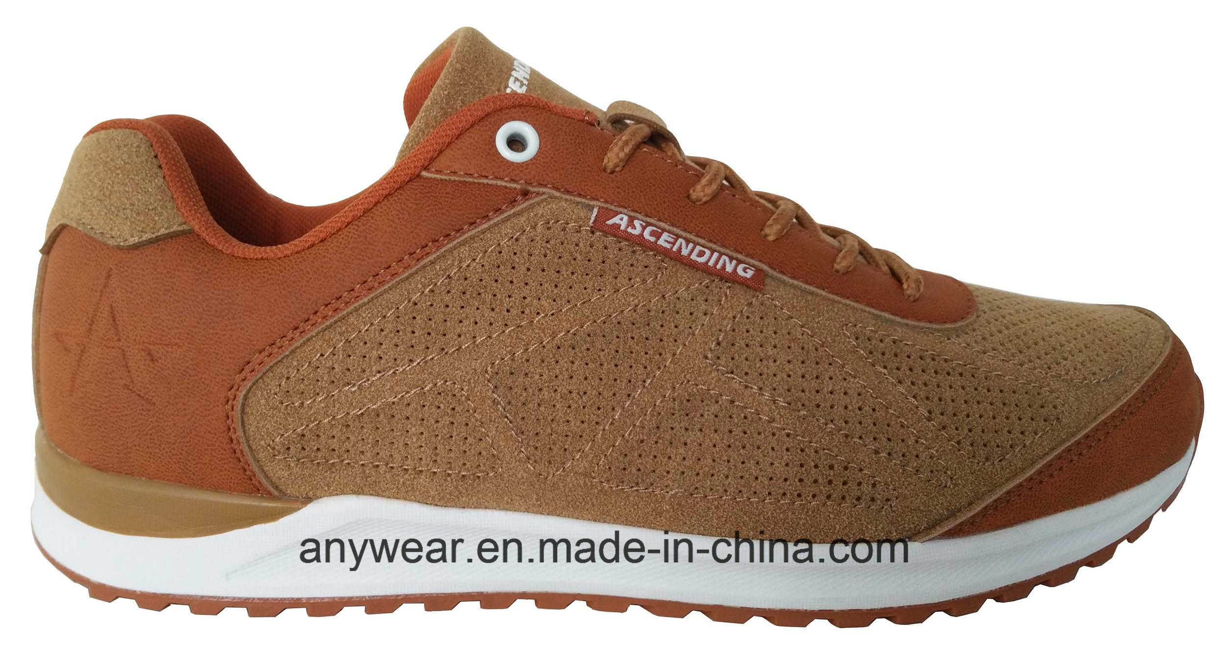 Casual Leather Footwear Men Leisure and Comfort Shoes (816-4986)
