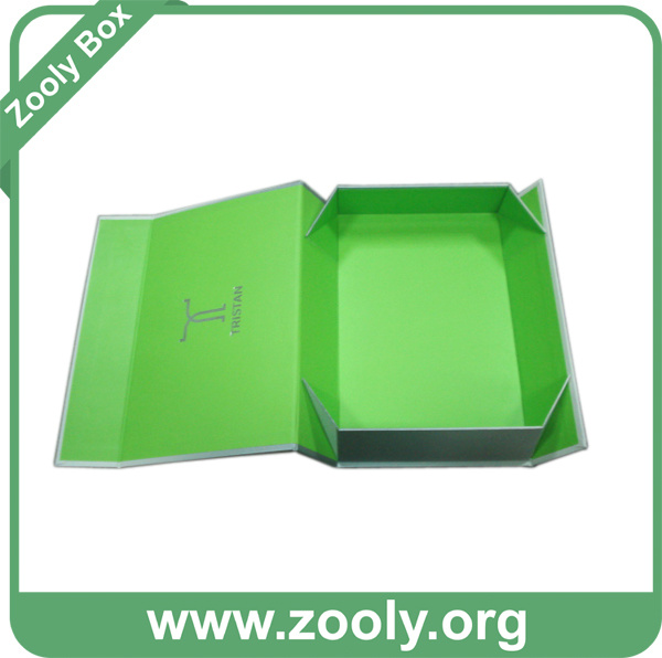 Small Printed Rigid Folded Cardboard Paper Gift Box