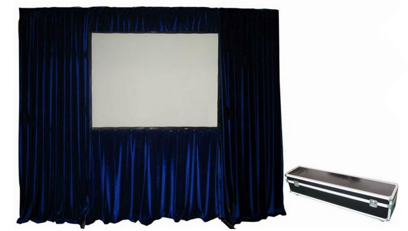 Fast Folding Projection Screen with Draper Kits/Projector Screen (FS300H)