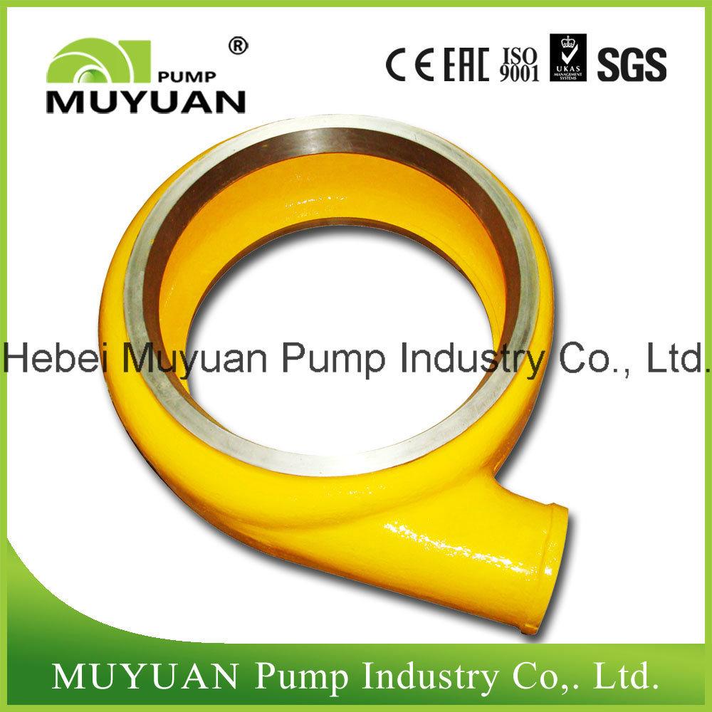 6/4e Heavy Duty Slurry Pump Part Volute Liner