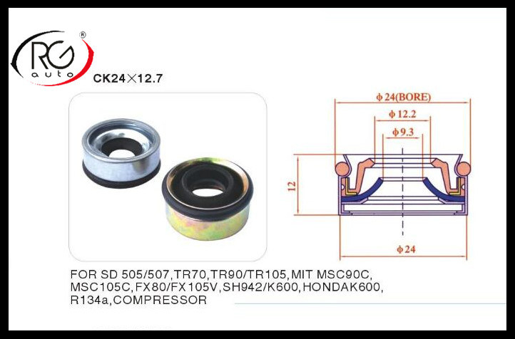 for Honda Mechanical Seal Rg24X12.7