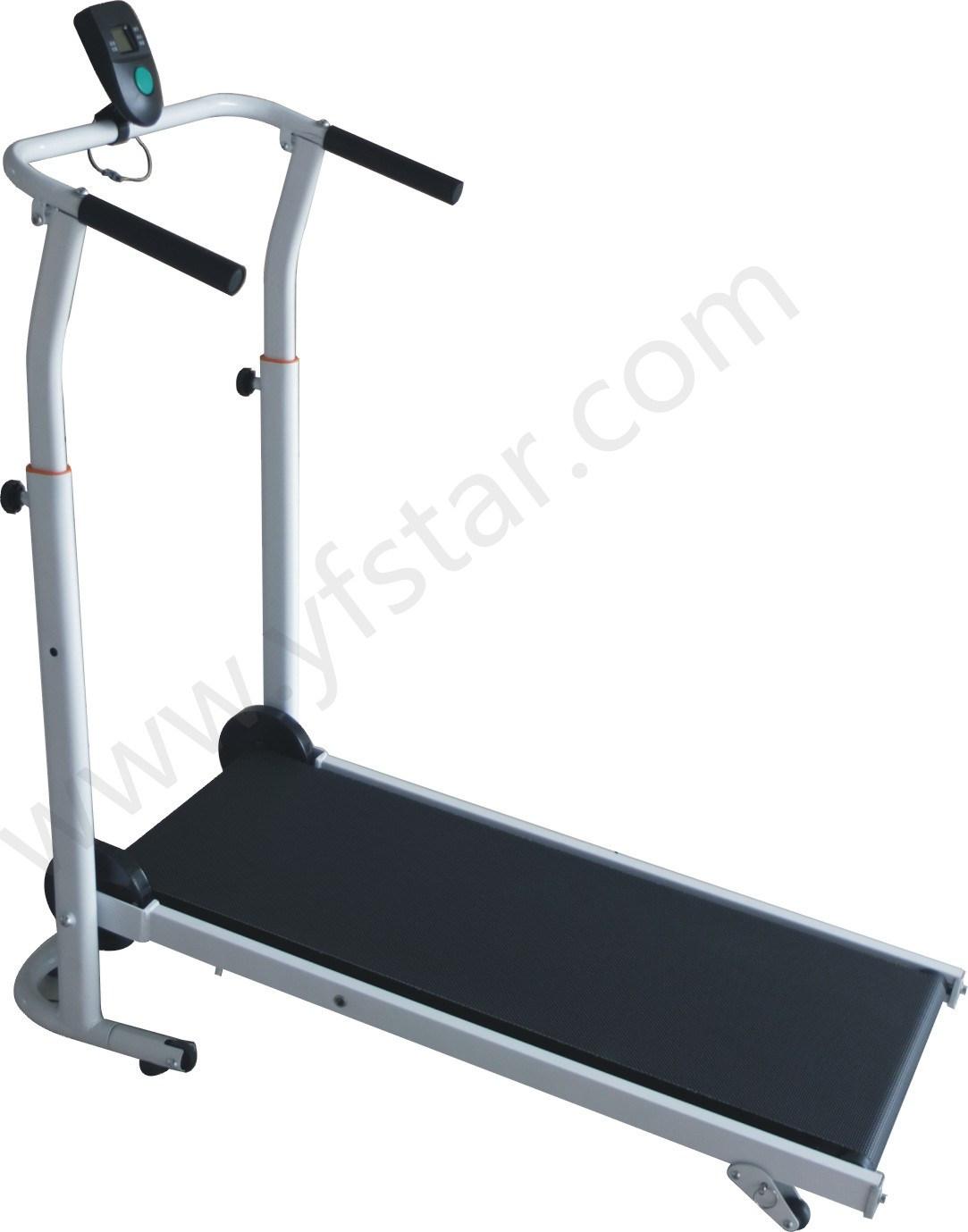 Home Design Fitness Exerciser Manual Treadmill, T-100