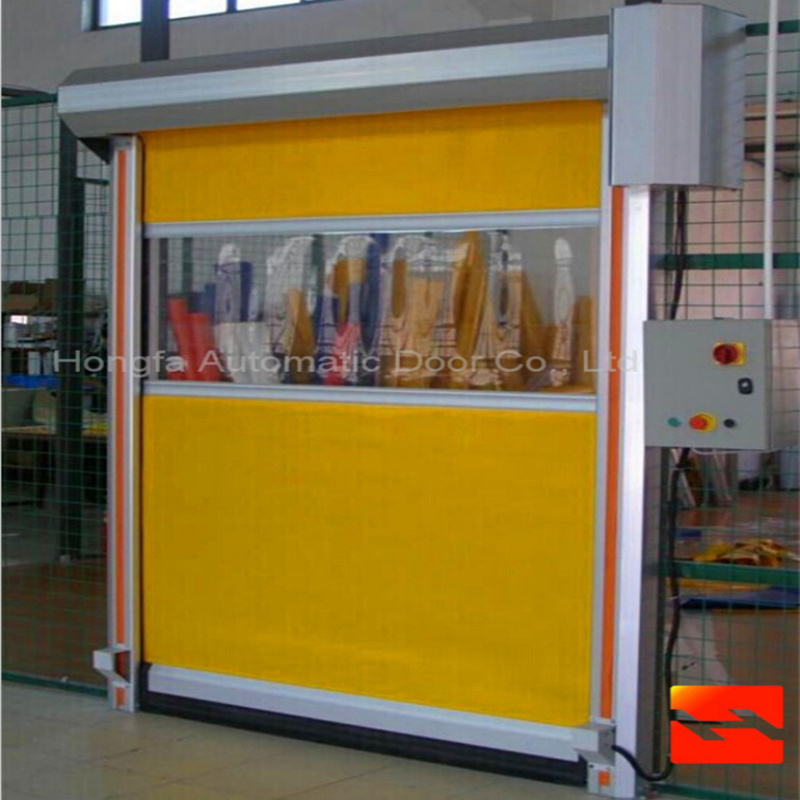Automatic Industrial Fast Rolling Shutters Door