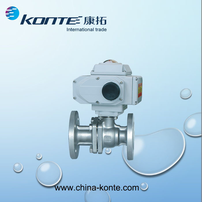 Q41f-16p/R/C 2PC Flanged Ball Valves ISO-Direct Mounting Pad