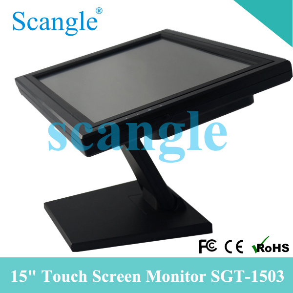 15 Inch LCD Monitor Touch Screen VGA USB Interface (SGT-1503)