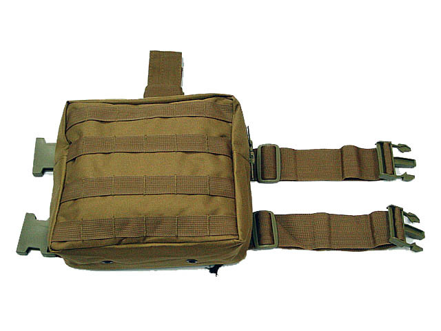 Molle Utility Drop Leg Panel Pouch Bag