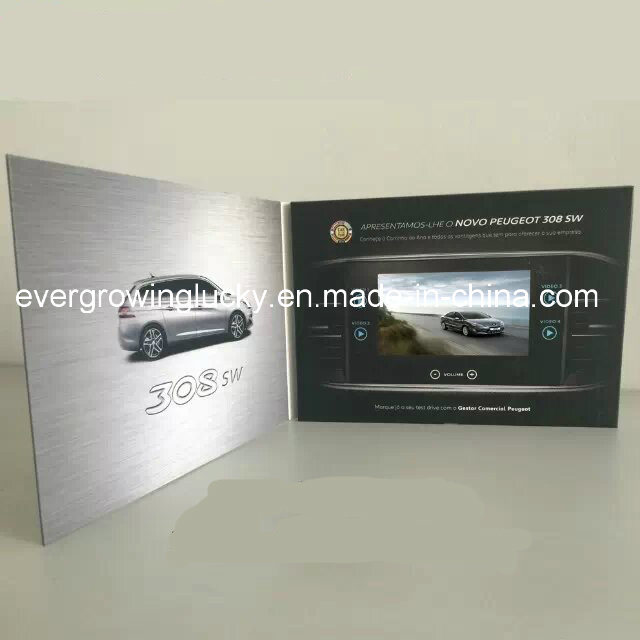 5inch Video Brochure for Marketing Advertisement