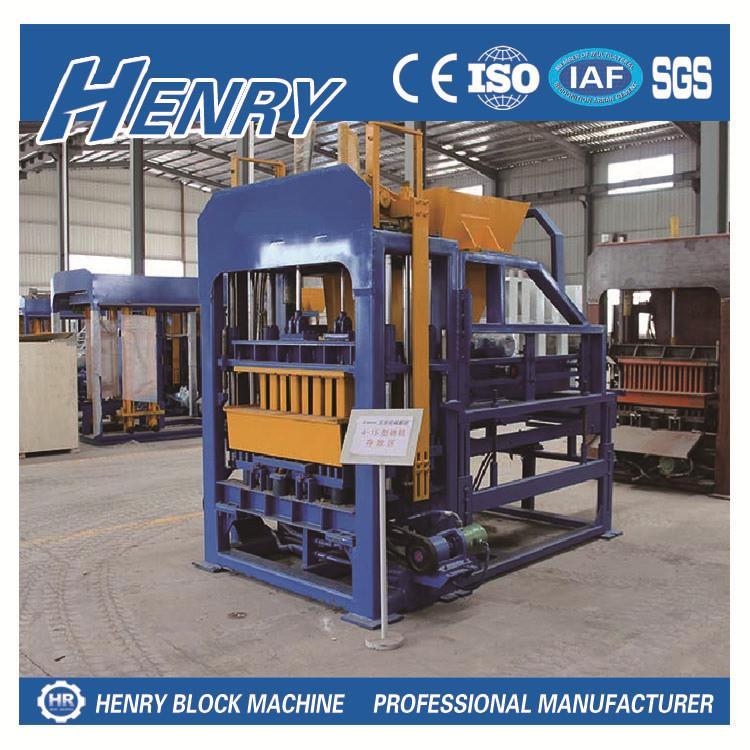 Construction Machinery Qt4-15 Hydraulic Press Machine Price Concrete Block Machine