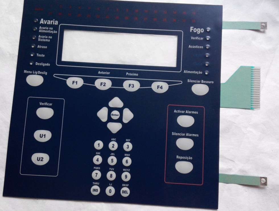 Customizing Round Embossing Polydome Membrane Keypad with Shielding Layer
