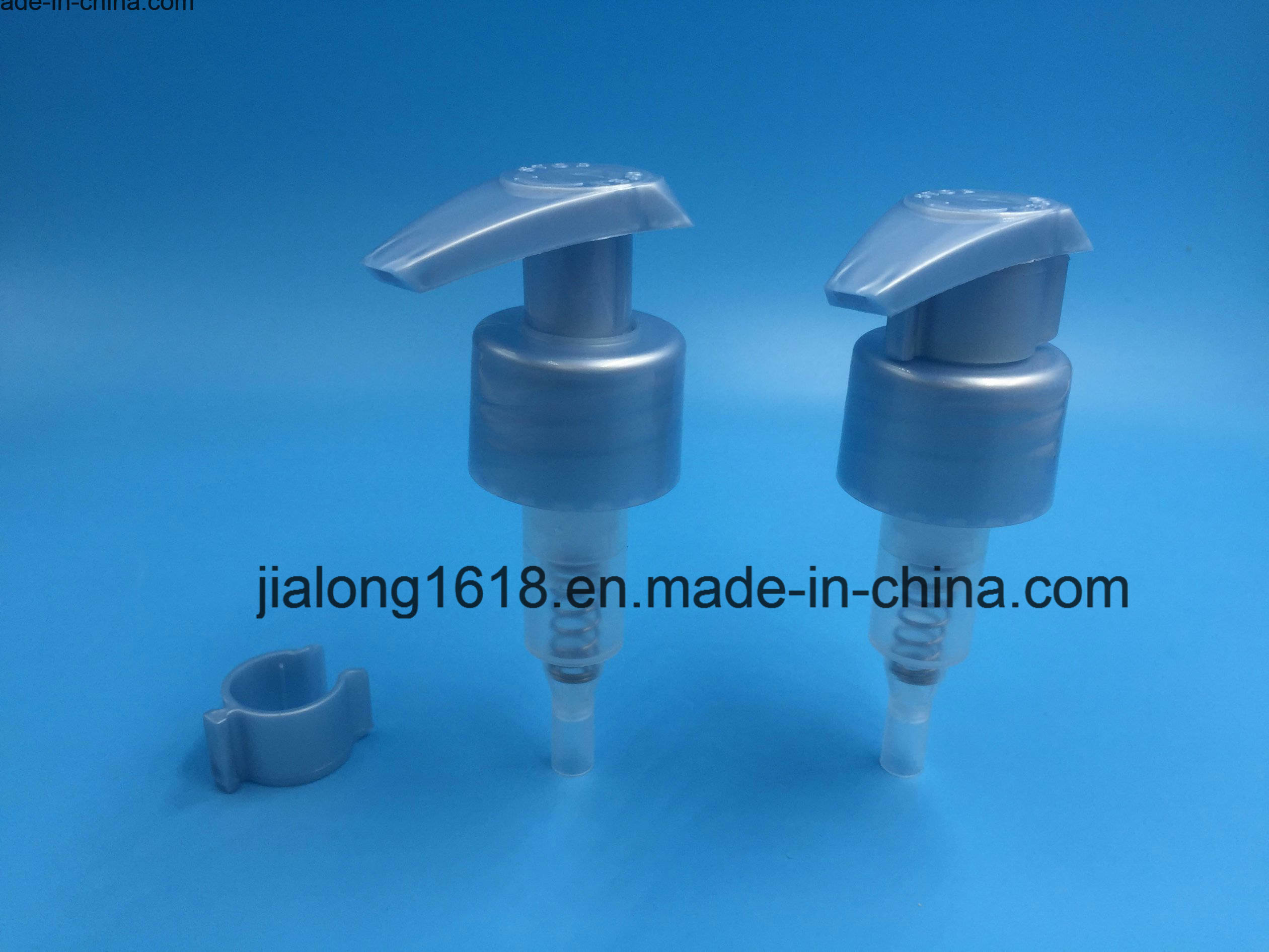 Plastic Lotion Pump with Clip for Cosmetic