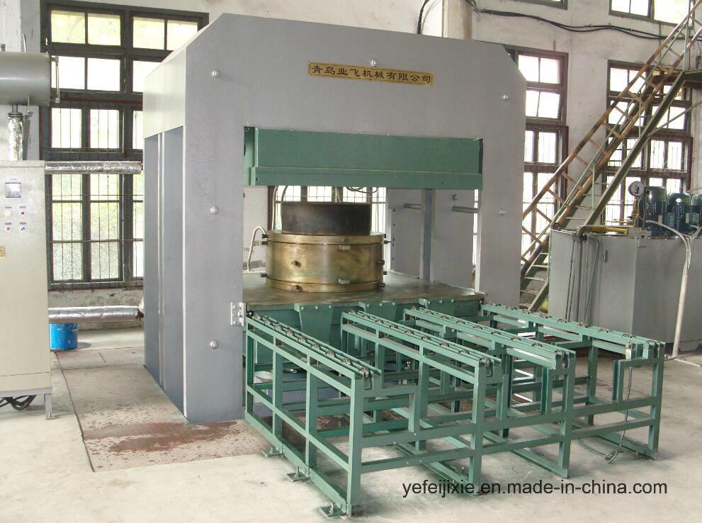 Vulcanizing Press Vulcanizer Rubber Plate Moulding Machine