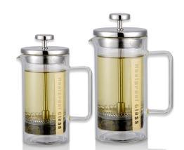French Coffee Press and Tea Maker with Stainless Plunger