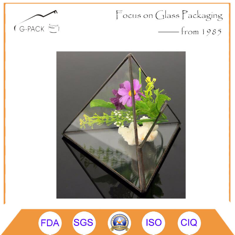 Top Selling Glass Geometric Terrarium Planter Glass Vase