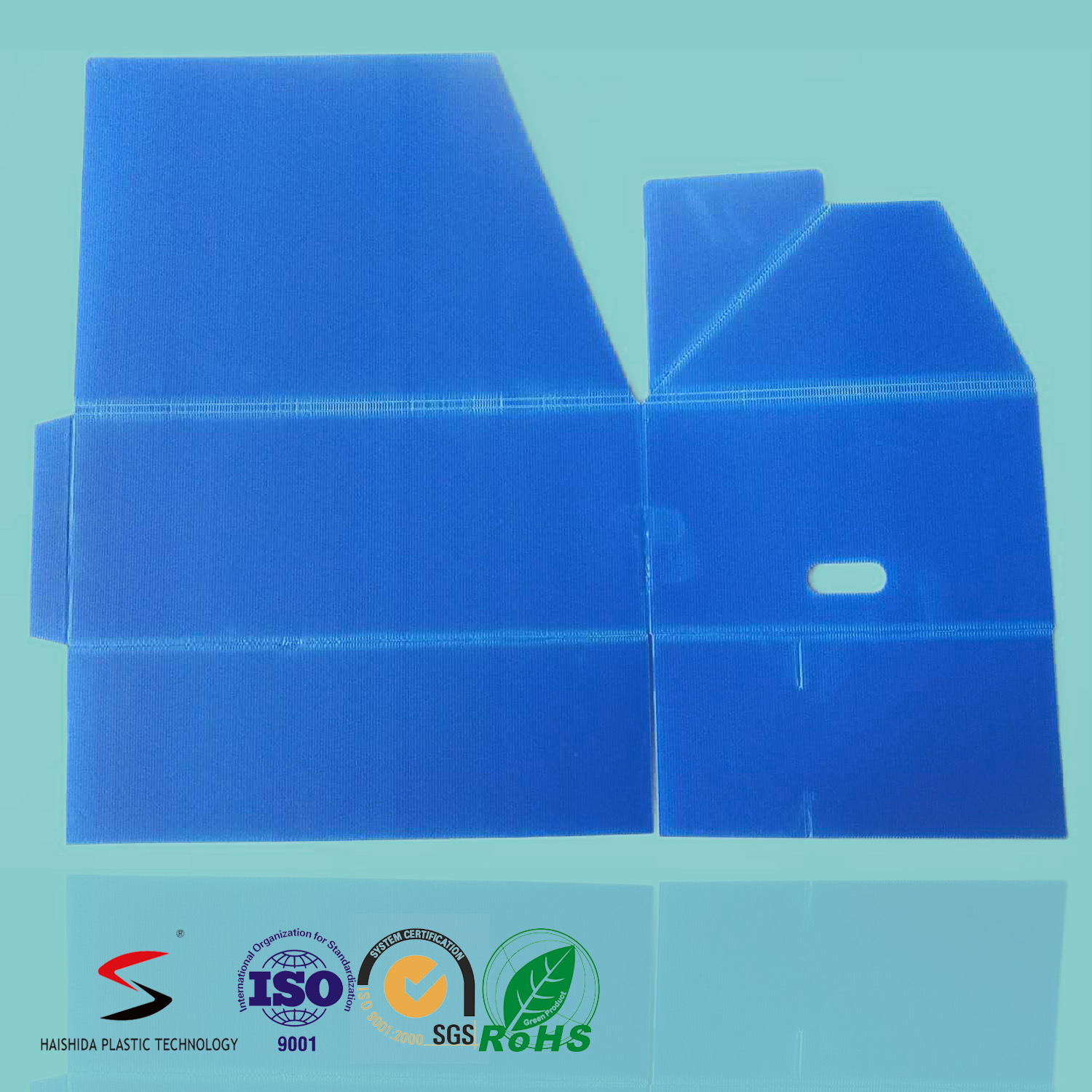 Corrugated Plastic Turnover Box Collapsible Turnover Box Corrugated Plastic Returnable Packaging
