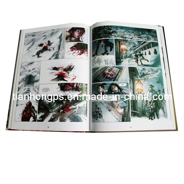 Colorful Comic Book Printing, Offset Printing Company