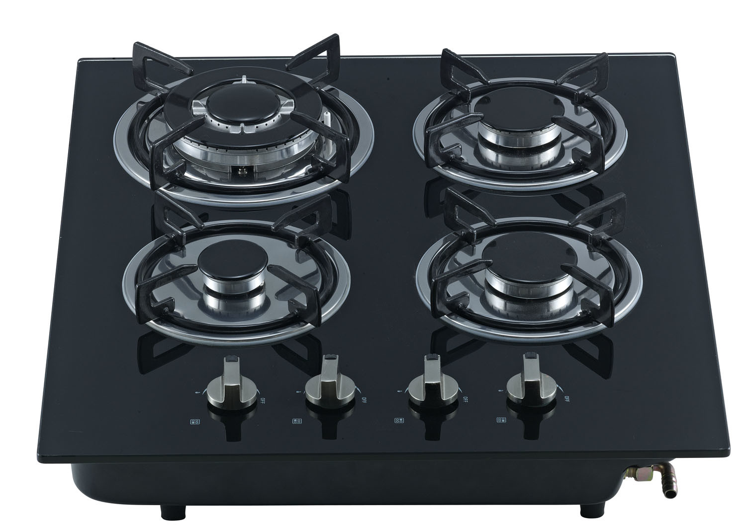 Build-in Gas Cooker with Glass Top and Four Buners Jz20y. 4-Sn02