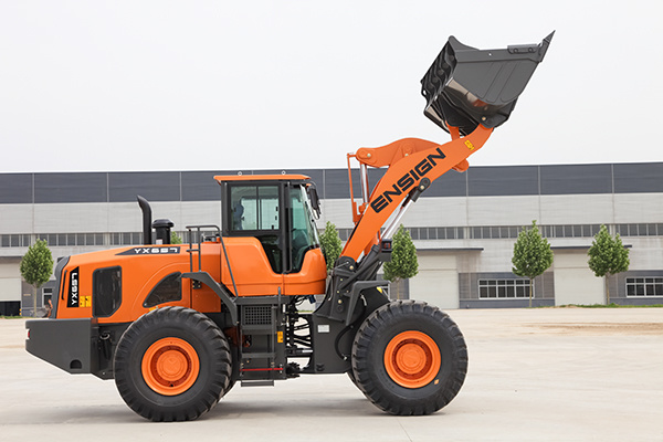 5 Ton Articulated Wheel Loader with Cummins Engine