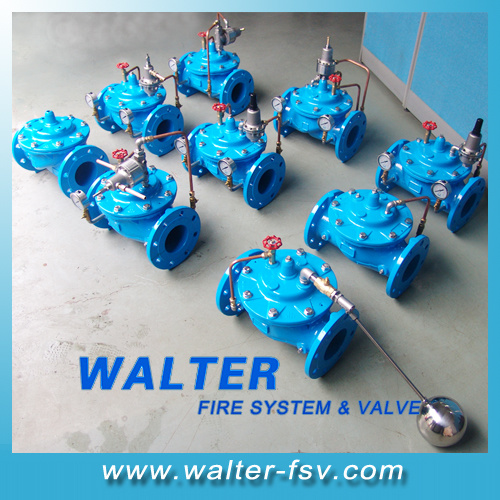 Pressure Reducing Valve for Water System