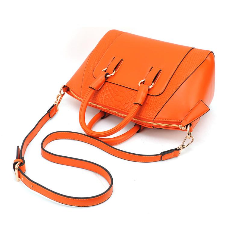 Crocodile Pattern Women′s Shoulder Handbags