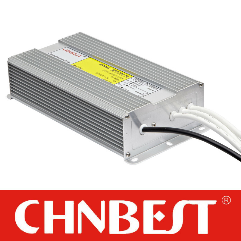 200W 24VDC IP67 Waterproof LED Power Supply (BFS-200-24)