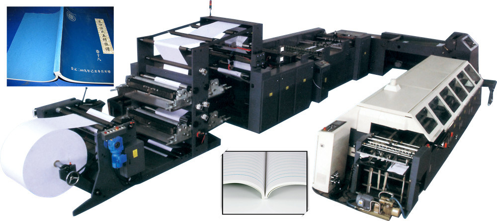 Full Automatic Note Book Making Machine
