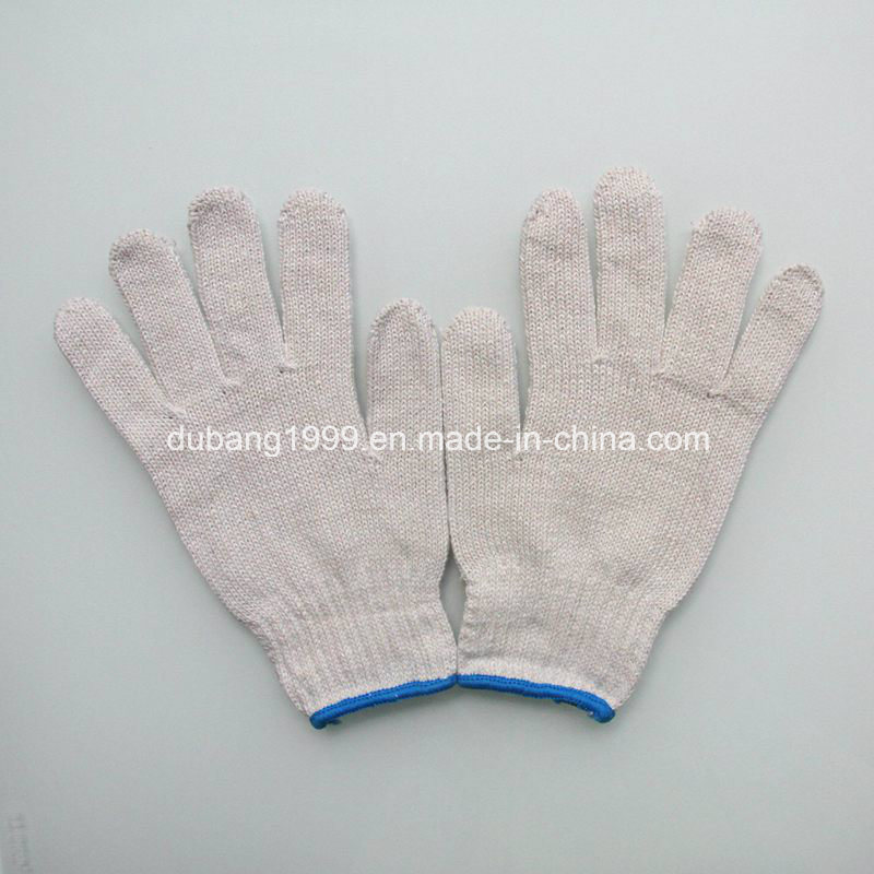Cotton Knitted Work Glove with Best quality and Price