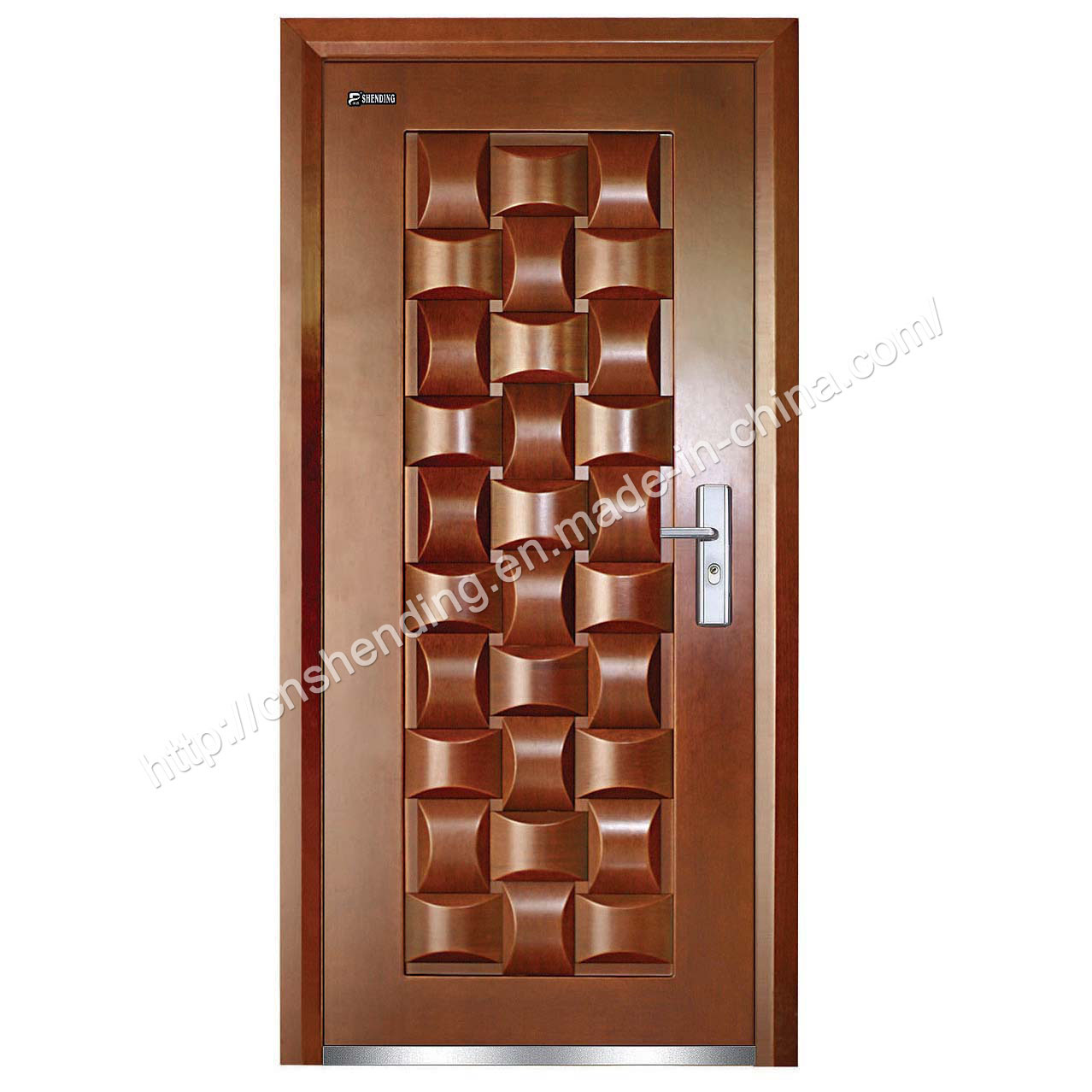 High Quality Exterior Doors Jefferson Door: China High Quality Steel- Door (SD-302) Photos & Pictures