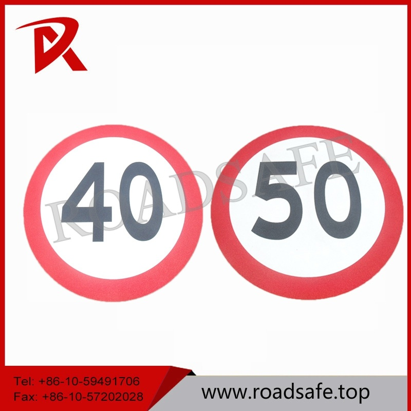 Preformed Adhesive Road Marking Sign