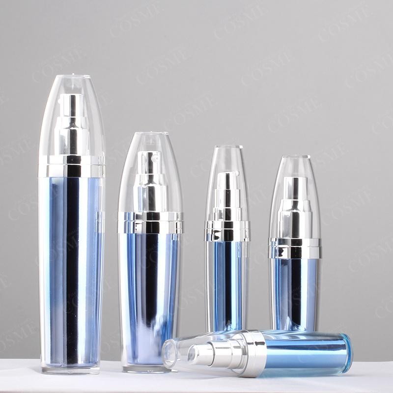 5ml 8ml 15ml 50ml Round Plastic Acrylic Cosmetic Bottle
