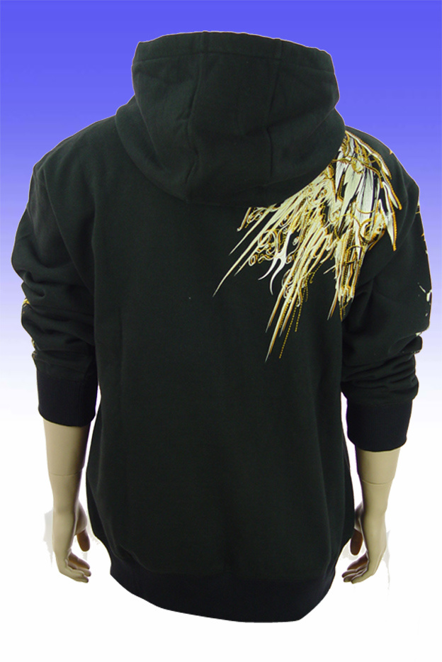 Men′s Fleece Embroidered Hoodie Sweater