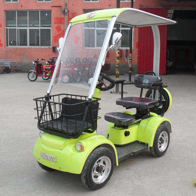 Huajiang New Energy The Four Roundurban Leisure Electric Car