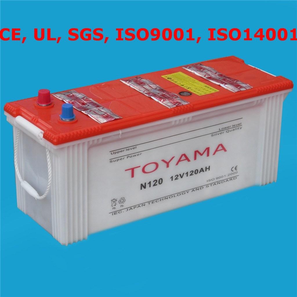 Car Battery Auto Battery Starter Battery12V120ah