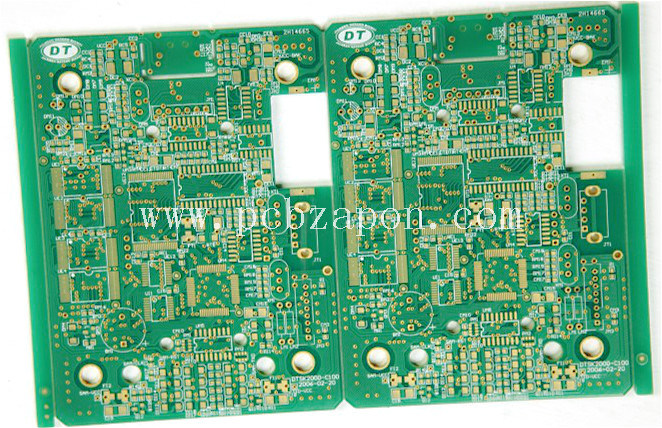 2016 4 Layers Fr4 Gold Printed Circuit Board PCB
