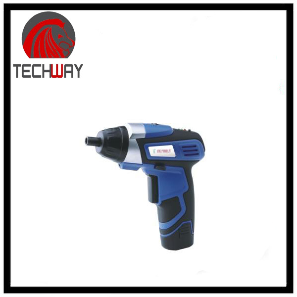 3.6/4.8 V Li-ion Cordless Electric Screwdriver with LED Light