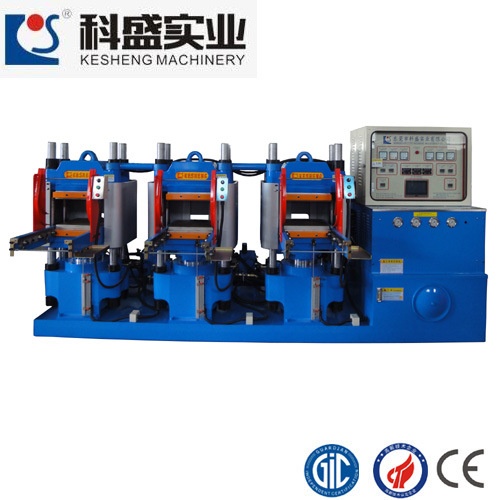 3 Head Rubber Molding Machine for Rubber Silicone Products (KS100HR)
