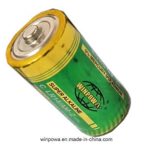 1.5V Alkaline Cylinder C Size Battery