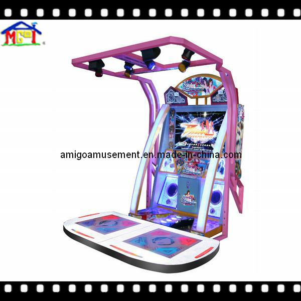 """55"""" LCD Arcade Dacing Music Game Machine"""