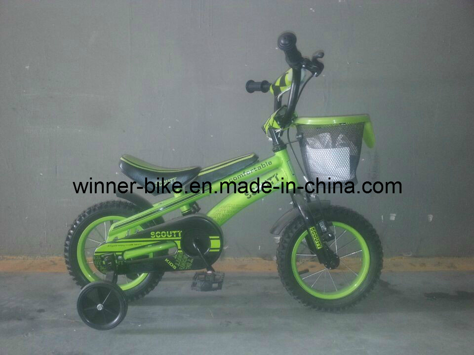 2014 New Scoutt Child Bicycle New Seat 16''