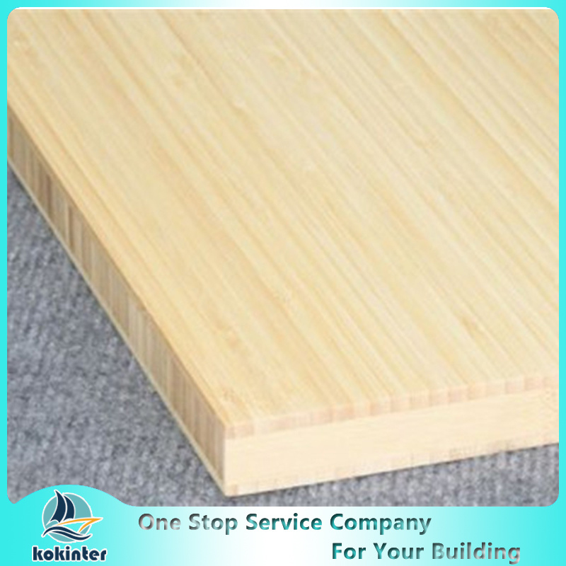 Natural Multilayer Pressure H Plate Bamboo Panel 3-500mm
