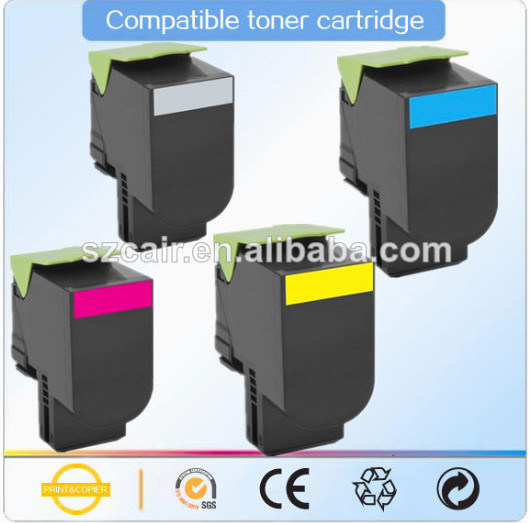 Hot Printing Consumables (Lexmark CS310/410/510) Toner Cartridge for CS410 CS510 CS310