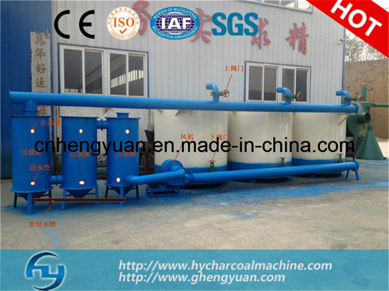 Environment Friendly Wood Waste Continuous Carbonization Furnace