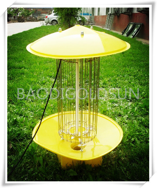 Solar Powered Mosquito Killer Lamp for All Kinds of Insect in Garden, Yard, Plant