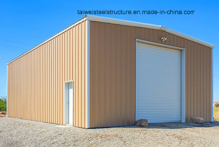 Light Steel Structure Warehouse Shed with Metal Steel Sheet