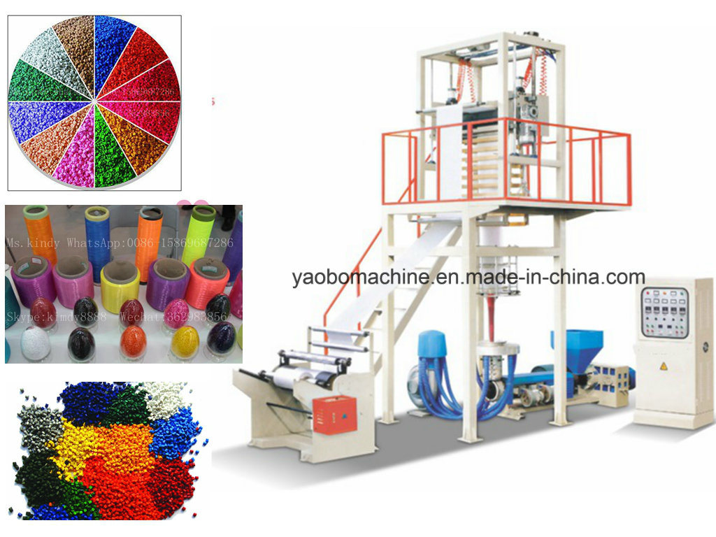 Sj-A55 High Speed PE Film Blowing Machine