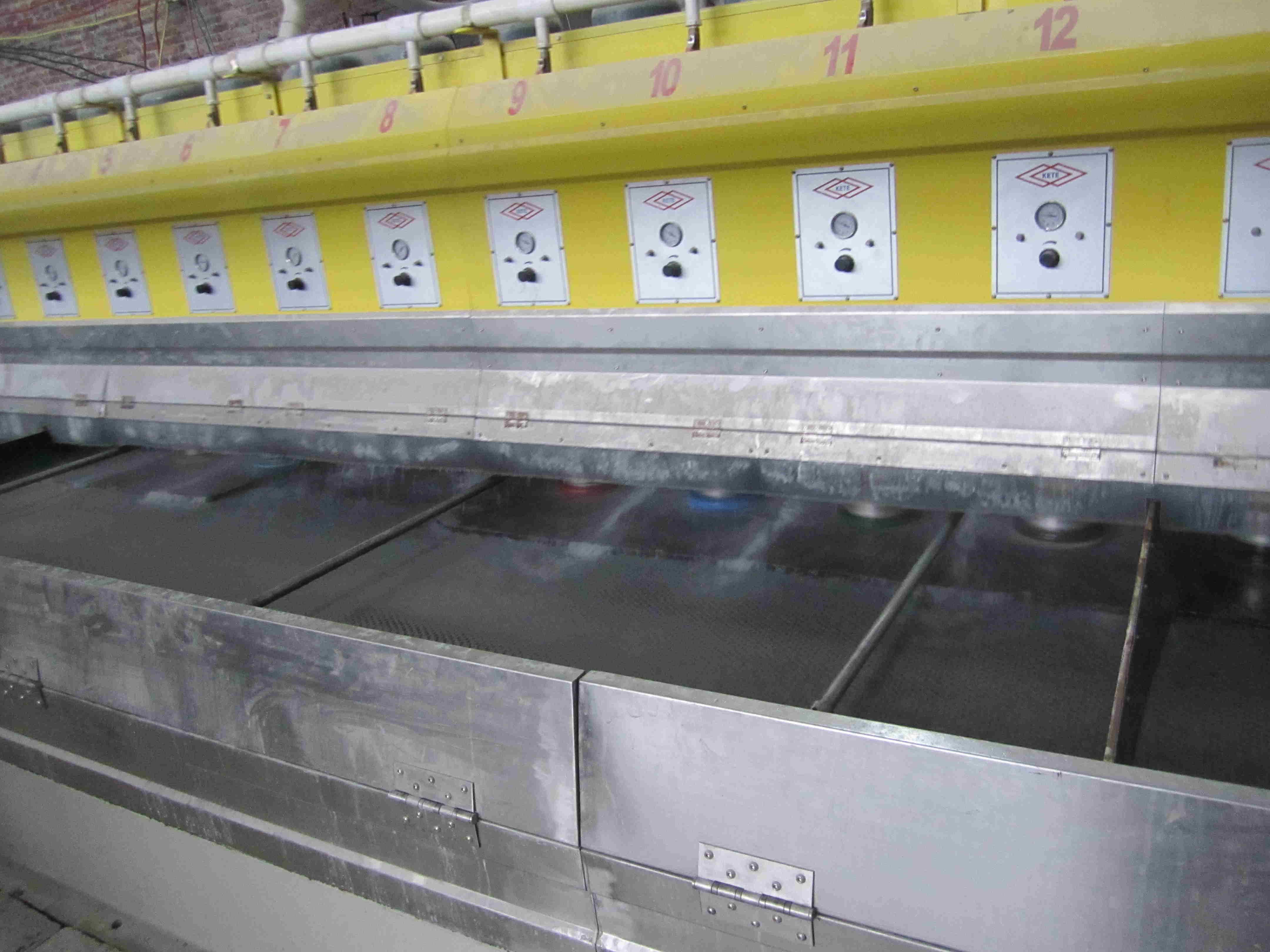 Automatic Polishing Line Stone Polishing Machine