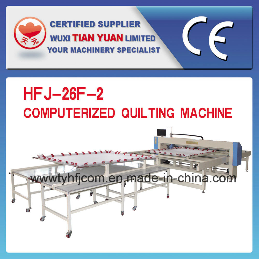 Mattress Single Needle Computerized Quilting Machine