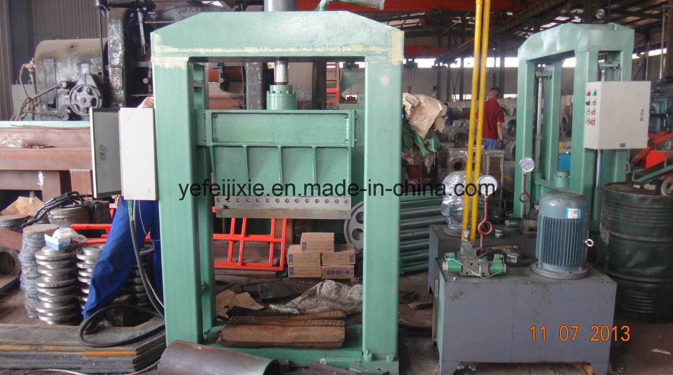High Precision Bale Rubber Cutting Machine (CE/ISO9001)
