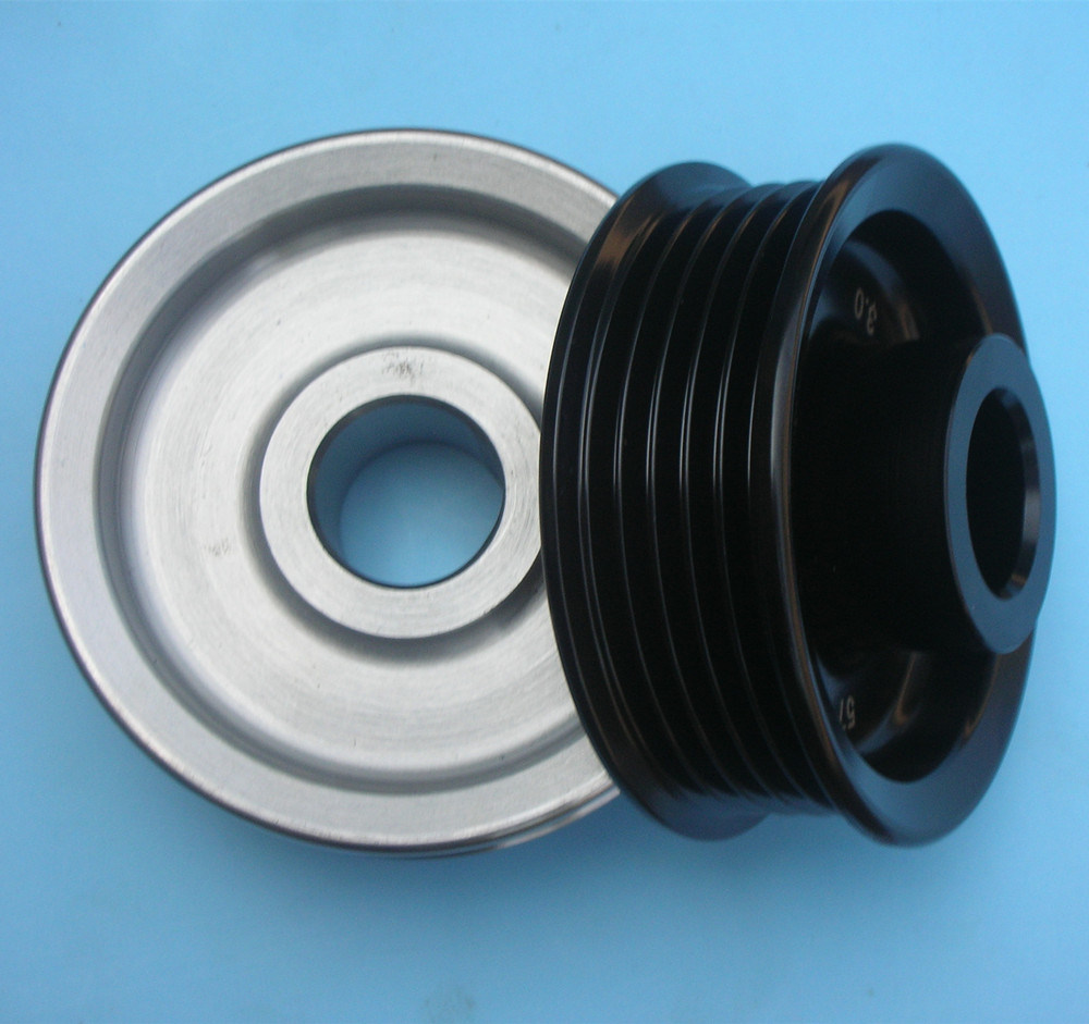 CNC Turning Part for Fitness Equipment Belt Pulley Machining Part