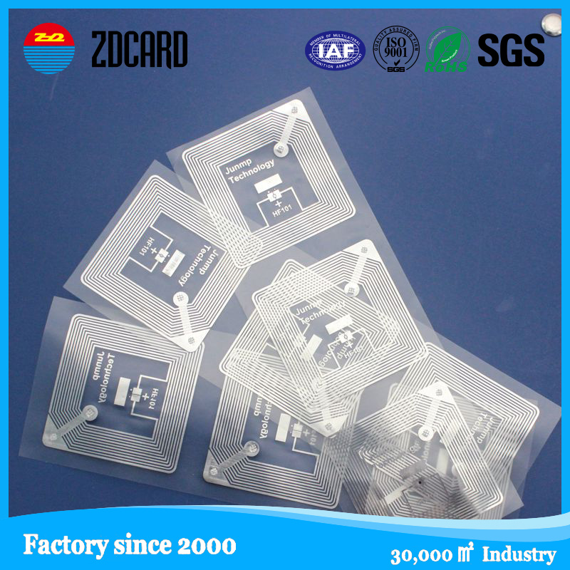 Factory Price of Paper or Plastic Passive RFID Tag